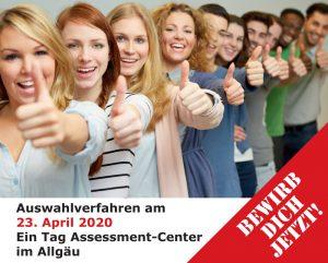 Gebt Studenten eine Chance! Assessment-Center für Studenten.